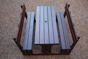 Premier Bench With Backrest