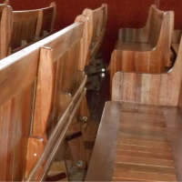 Meranti Church Pews